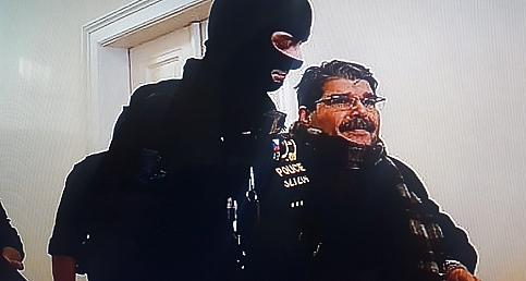 İşte Salih Müslimin ilk tutuklu görüntüleri