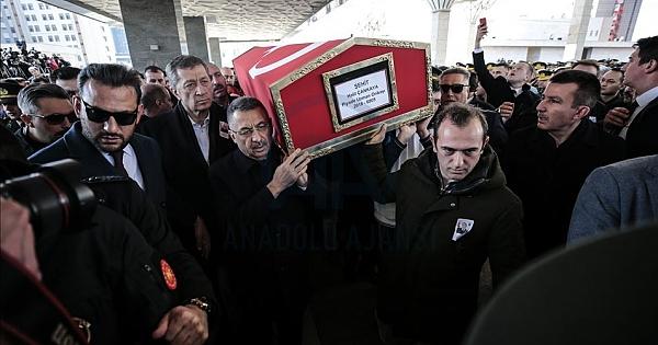 İdlib şehitlerinden Halil Çankaya ebediyete uğurlandı?