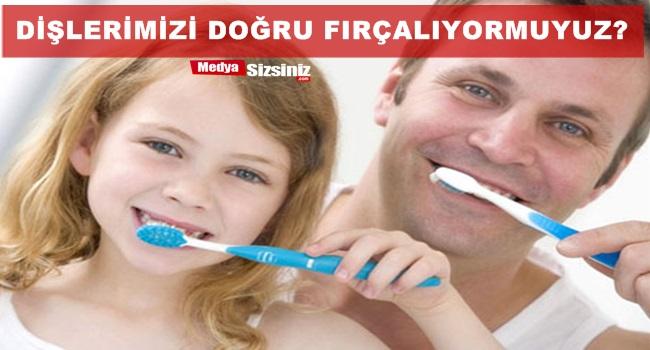 Dişlerinizi Doğru Şekilde Fırçalıyor musunuz?
