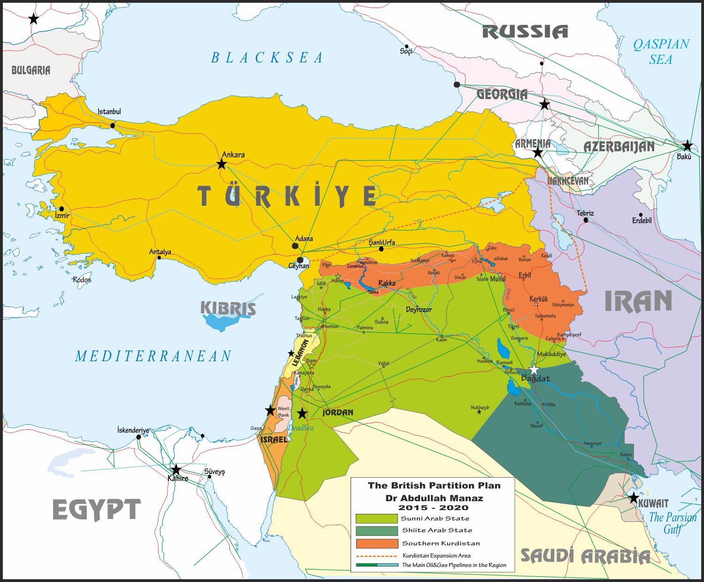 Türkiye Rusya İran İngiltere Koridor 9