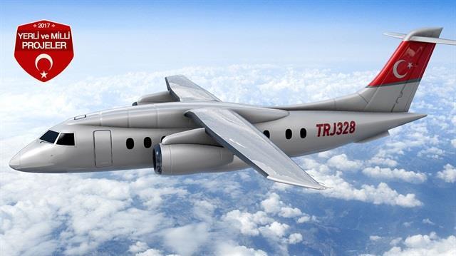 Türkiyenin yeni projesi bölgesel jet uçağı?