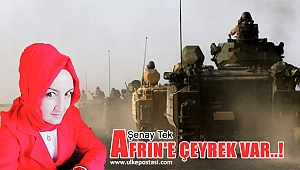 AFRIN'E ÇEYREK VAR..!