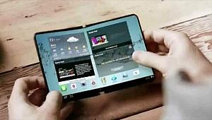 Samsung, 2018'de katlanabilen bir akıllı telefon pazarlamayı planlıyor!