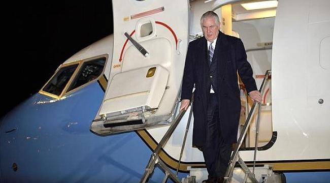 ABD Dışişleri Bakanı Tillerson Ankara'da!