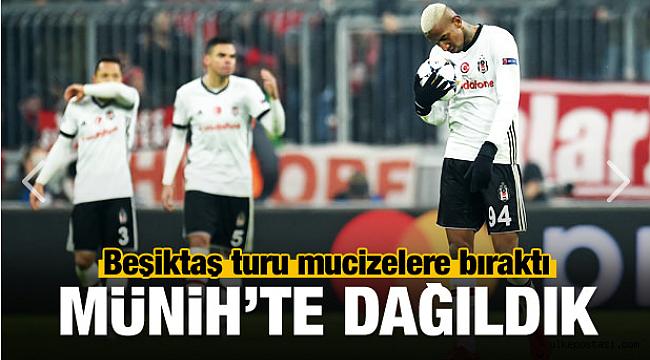 Beşiktaş Bayern Münih Karşısında dağıldı