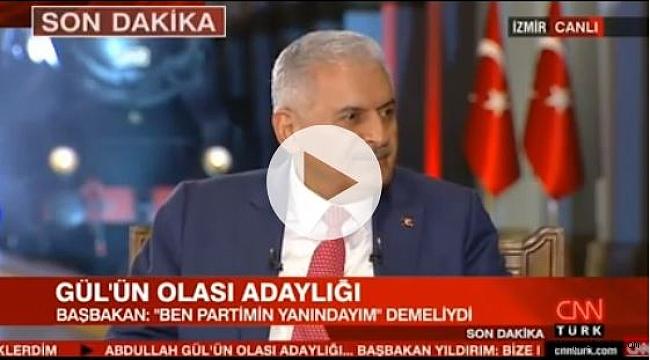 Başbakan Yıldırım'dan, Abdullah Gül'le ilgili sert sözler ?