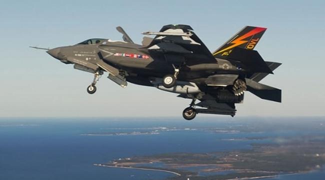 Amerika'de F-35B savaş uçağı düştü