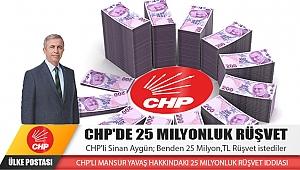 CHP'de 25 Milyonluk Rüşvet. İZLEYİN !!! ŞOK OLACAKSINIZ !!!