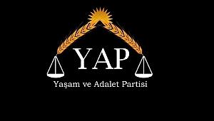 Davutoğlu'nun partisinin adı.''Yaşam ve Adalet Partisi''