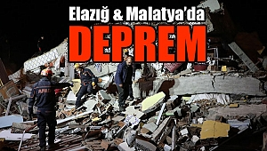 Elazığ & Malatya'da 6,8 Büyüklüğünde ''Deprem''