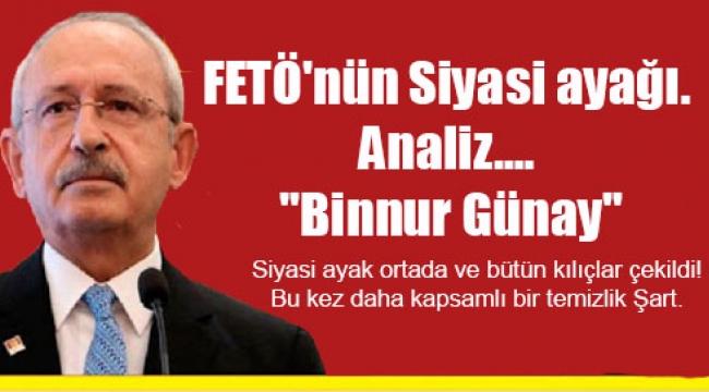 FETÖ'nün Siyasi ayağı. Analiz, ''Binnur Günay''?