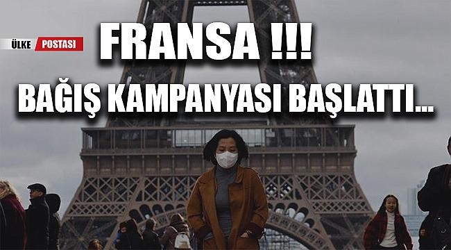 FRANSA !!! Zor durumda olan ihtiyaç sahibi vatandaşları için BAĞIŞ KAMPANYASI BAŞLATTI...