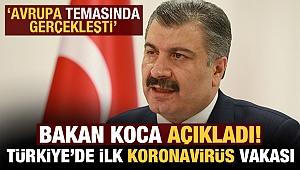 Türkiye'de ilk Korona virüs vakası