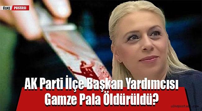 AK Parti İlçe Başkan Yardımcısı Gamze Pala Öldürüldü?
