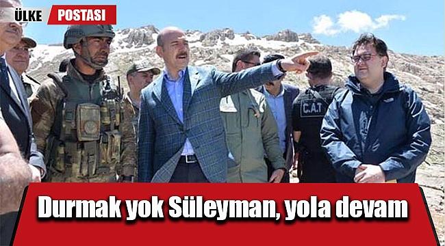 Durmak yok Süleyman, yola devam?