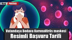 Vatandaşa Bedava KoronaVirüs maskesi dağıtımı başladı?