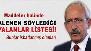 Kılıçdaroğlu'nun son yalanları?