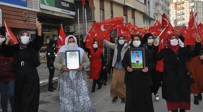 ANALAR HDP'DEN EVLATLARINI İSTİYOR!