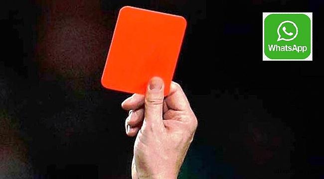 WhatsApp'a Kırmızı kart?