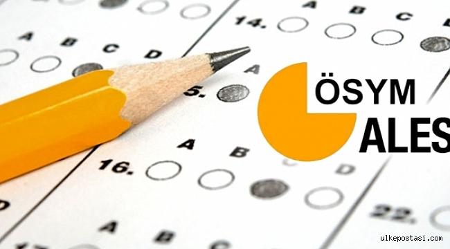 2021 ALES sınav sonuç tarihi...