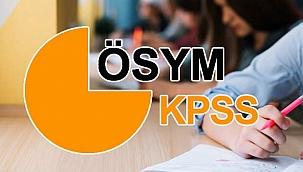 2021 KPSS başvuru tarihleri! ÖSYM KPSS lisans başvuruları ne zaman yapılacak?