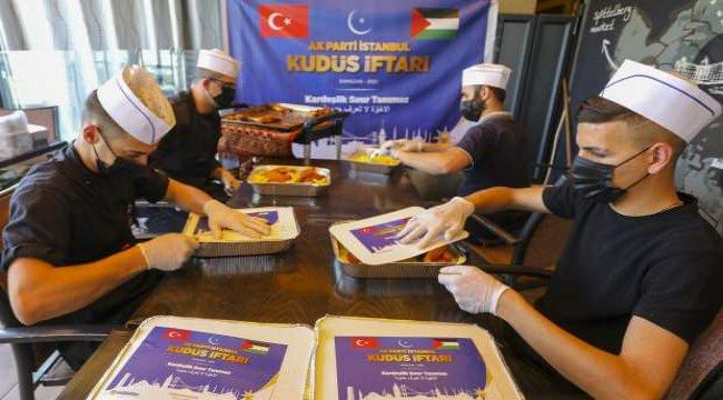 AK Parti İstanbul'dan Kudüs'e kardeşlik eli