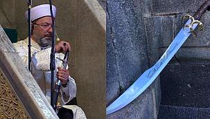 Ali Erbaş'ın kılıcı!