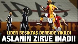 Beşiktaş yıkıldı Galatasaray'ın şampiyonluk inadı!