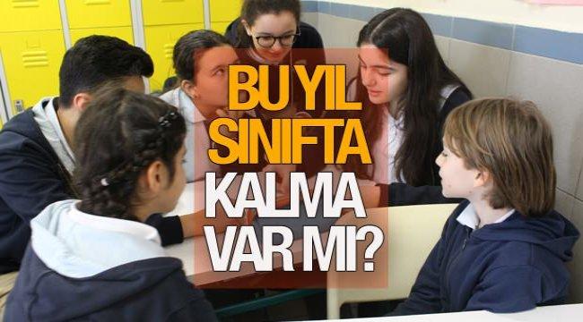 Bu yıl sınıfta kalma var mı? 2021 MEB İlkokul, ortaokul ve lise sınıf geçme nasıl olacak?