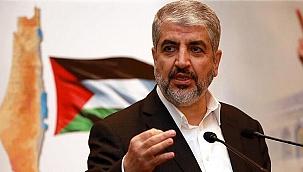 Eski Hamas lideri Halid Meşal: İsrail'in Mescid-i Aksa'dan çıkması ilk şartımız