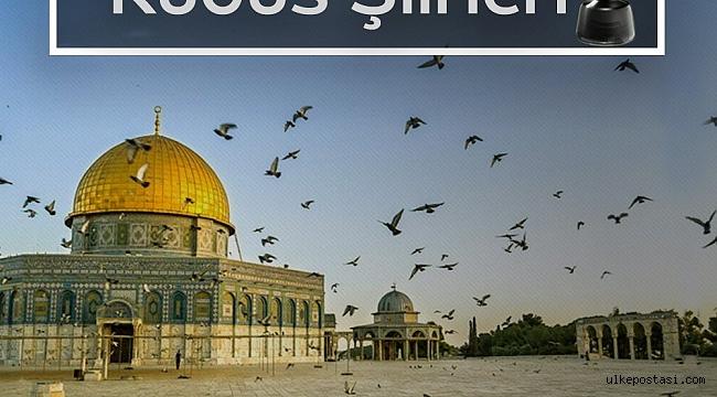 Filistinli ENES'in dersi! Kudüs şiirleri!