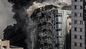 İsrail'in yerle bir ettiği Gazze'deki binanın sahibinden Uluslararası Ceza Mahkemesi'ne suç duyurusu