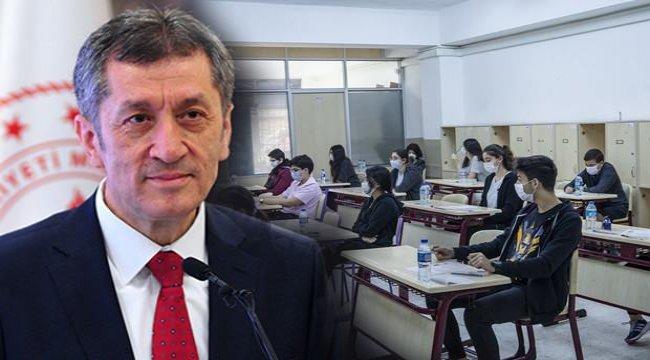 LGS sınavında flaş değişiklik! MEB Bakanı Ziya Selçuk bu seneye özel olacak...