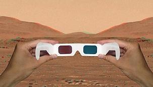 NASA paylaştı: Mars'tan üç boyutlu görüntü!