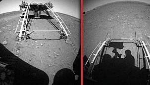 Zhurong, Mars'ta ilk sürüşünü gerçekleştirdi