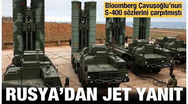 Bloomberg'in S-400 iddiasına Rusya'dan yalanlama!