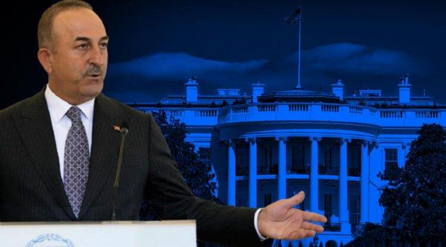 Çavuşoğlu'ndan flaş ABD açıklaması!