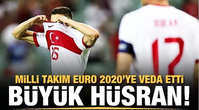 EURO 2020'ye veda ettik!