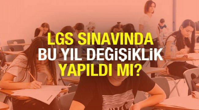LGS sınav konularında değişiklik yapıldı mı? MEB Bakanı Selçuk bu yıl dil bilgisinden soru…