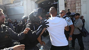 Terör Devam ediyor! İsrail polisi saldırdı
