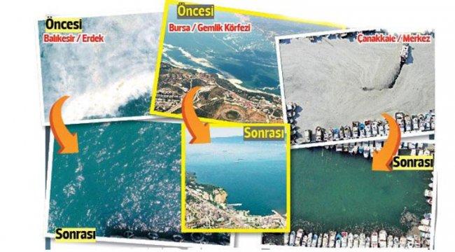 Marmara'nın güneyinde kabus bitiyor