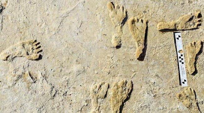 23 bin yıllık insan ayak izi?