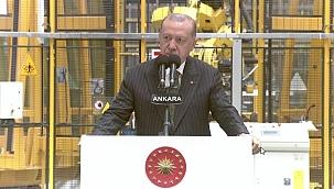 Cumhurbaşkanı Erdoğan: Başımızın üstünde yeri vardır