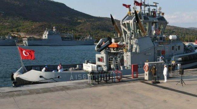 Deniz Kuvvetleri'ne güç katacak: Denize indirildi