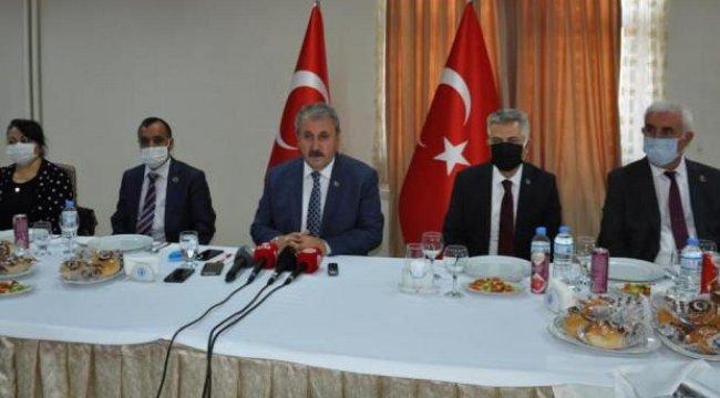 Destici: CHP nasıl bir anayasa yazacağını bilmiyor