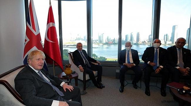 Erdoğan Boris Johnson ile görüştü.!