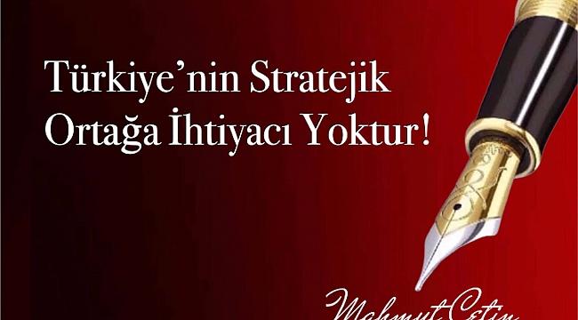 Stratejik Ortaklık?