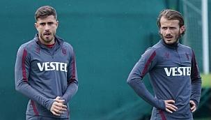 Trabzonspor'da iki futbolcu sakatlandı