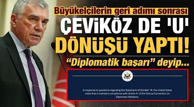 "CHP'li Çeviköz den ""U"" dönüşü!"