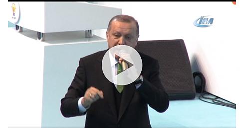 """Cumhurbaşkanı Erdoğan : """"Birilerinin önüne arkasına sığınma"""""""